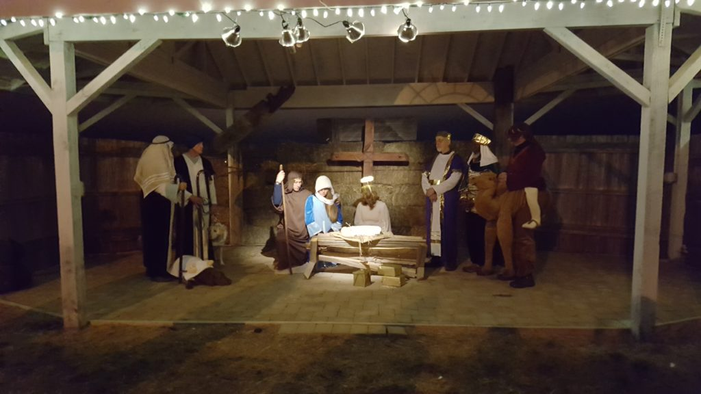 Christmas Nativity at Landmark
