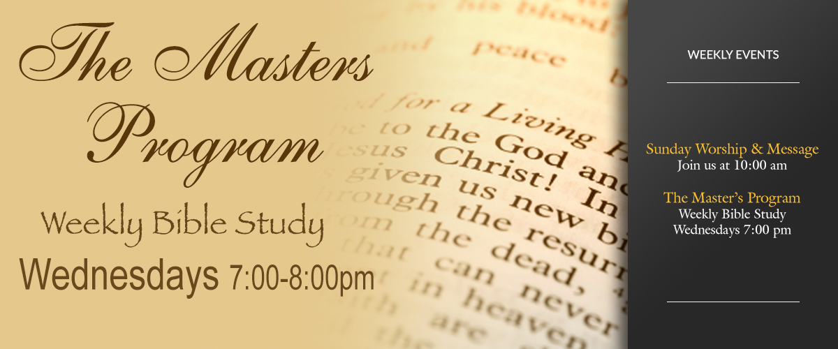 Masters Program Bible Study