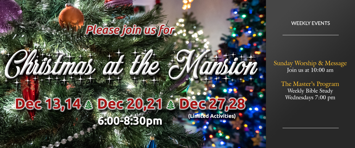 Christmas at the Mansion