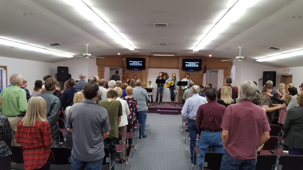 Worship at Landmark Community Church