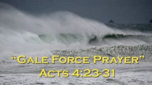 Prayer Sermon