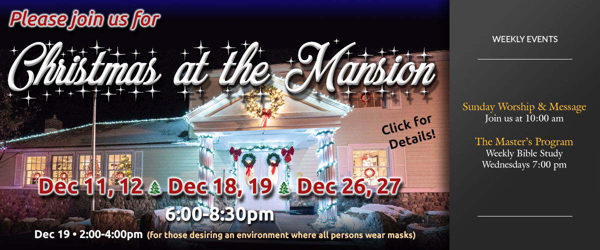 Christmas at the Mansion 2020